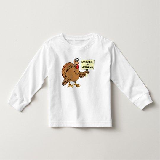 Thankful For Vegetarians Toddler T-shirt