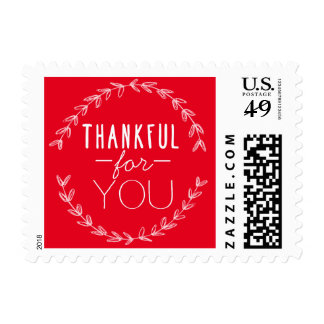 THANKFUL FOR YOU HOLIDAY WREATH STAMP