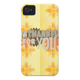 Thankful for you iPhone 4 Case-Mate case