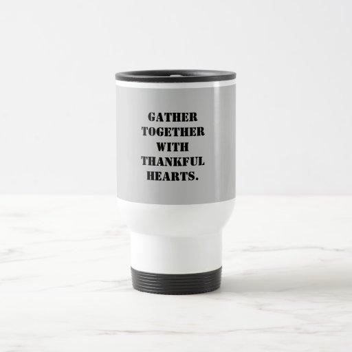 Thankful hearts Mug