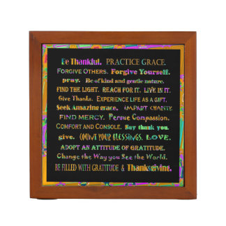 thankful mind and art pencil holder