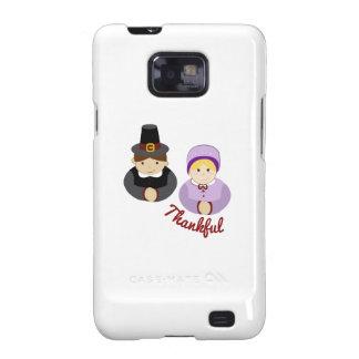 Thankful Pilgrims Galaxy S2 Case