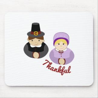 Thankful Pilgrims Mouse Pad