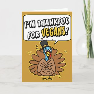 Thankful Turkey Greeting Cards
