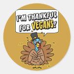 Thankful Turkey sticker