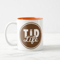 Thankful Two-Tone Coffee Mug
