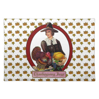 Thankgiving Joy cloth placemat