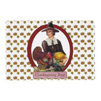 Thankgiving Joy laminated placemat