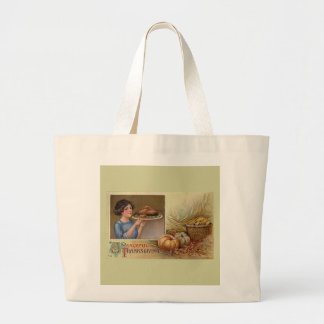 Thankgiving Peaceful Greeting Reusable Bag