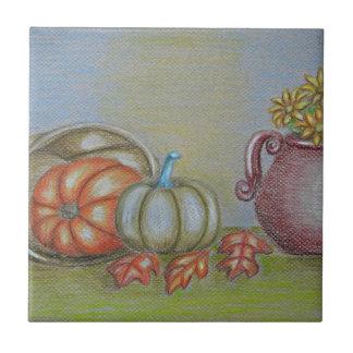 Thankgiving still life tile