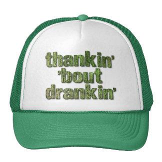 Thankin bout Drankin Trucker Hat