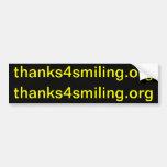 thanks4smiling.org (el corte 2 hace a 2 pegatinas  etiqueta de parachoque