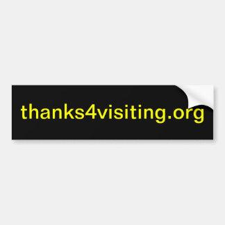 thanks4visiting.org (pegatinas para el parachoques pegatina para auto