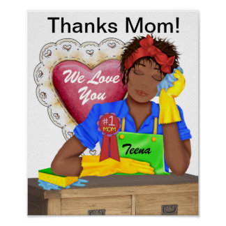 Thanks # 1 Mom ! - SRF Poster