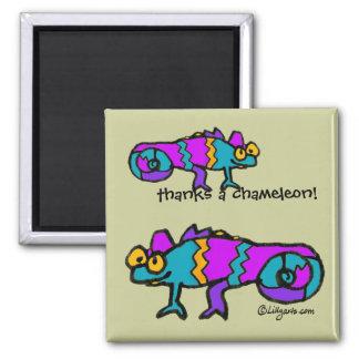 Thanks a Chameleon! Magnet