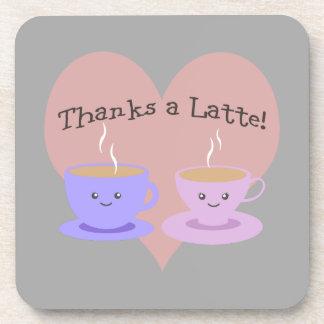 Thanks a Latte! Coaster