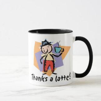 Thanks a latte! Coffee Mug