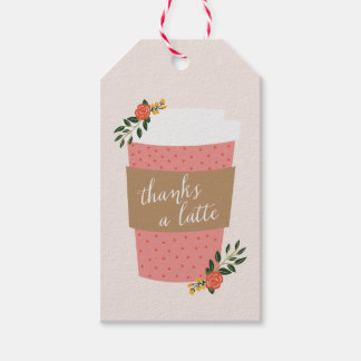 Thanks a Latte Gift Tags