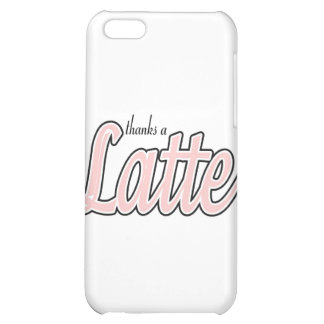 Thanks a Latte iPhone 5C Cover