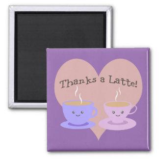 Thanks A Latte Magnet