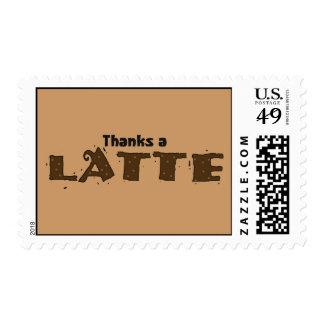 Thanks A Latte Postage