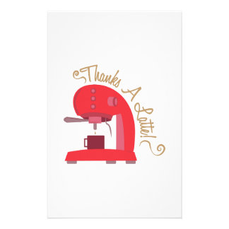 Thanks A Latte Stationery
