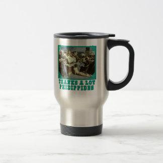 Thanks A Lot Phidippides Funny Marathon Tees 15 Oz Stainless Steel Travel Mug