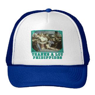 Thanks A Lot Phidippides Funny Marathon Tees Trucker Hat