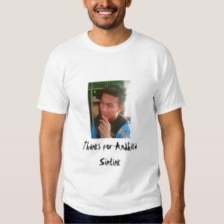 Thanks Andhika Sintink Tee Shirt