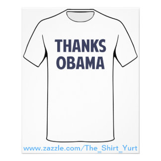 Thanks Barack Obama Custom Flyer