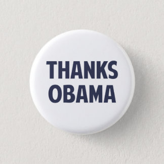 Thanks Barack Obama Pinback Button