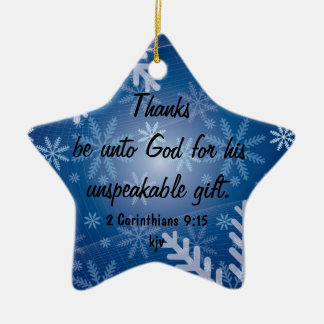 Thanks Be to God Christmas Tree Ornaments