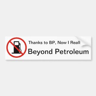Thanks BP Car Bumper Sticker