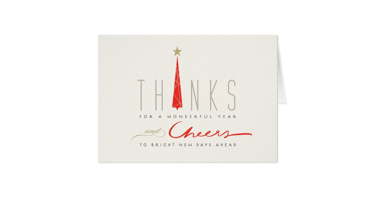 Contemporary Corporate Holiday Cards - Greeting & Photo Cards | Zazzle