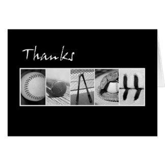 Thanks Coach Baseball Card