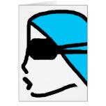 THANKS COACH STYLIN PROFILIN ORIGINALS SWIMMER GREETING CARD