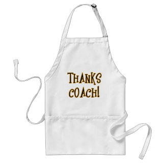 THANKS COACH! Tshirt or Gift Product Aprons