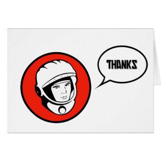 Thanks Comrades Soviet Thank You Card