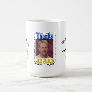 Thanks Dad coffiee mug