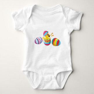 Thanks Easter Bunny, Bok, Bok! Baby Bodysuit