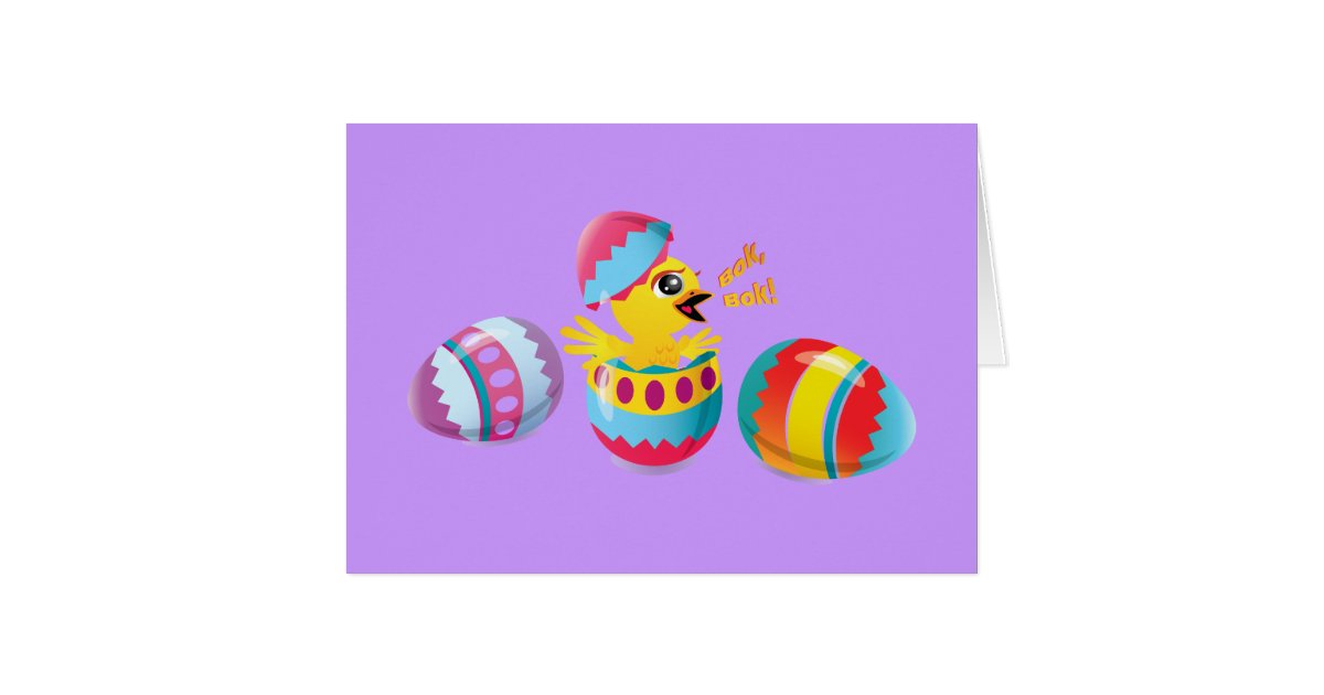 Thanks easter bunny bok bok card zazzle for What is the easter bunny s phone number