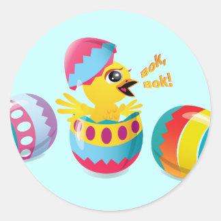 Thanks Easter Bunny, Bok, Bok! Classic Round Sticker