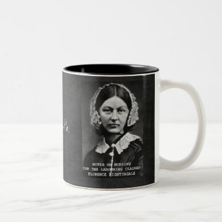 Thanks Flo. Nurses Nursing Two-Tone Coffee Mug