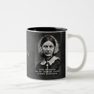 Thanks Flo Nursing Nurse Two-Tone Coffee Mug