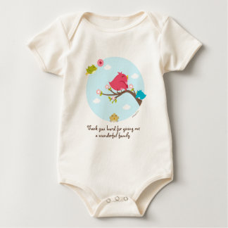 Thanks For A Wonderful Family Baby Tees