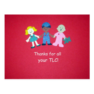 Thanks for all your TLC Postcard