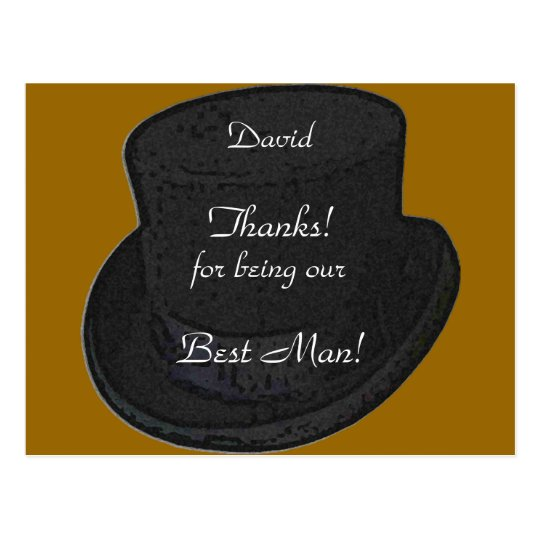 thanks for being our best man card template zazzle com
