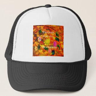 Thanks for blessings trucker hat