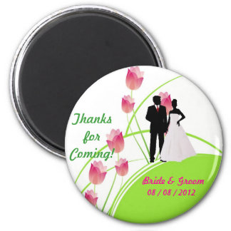Thanks for Coming (Green and Pink) Magnet