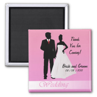 Thanks for Coming!  (Pink) Refrigerator Magnets